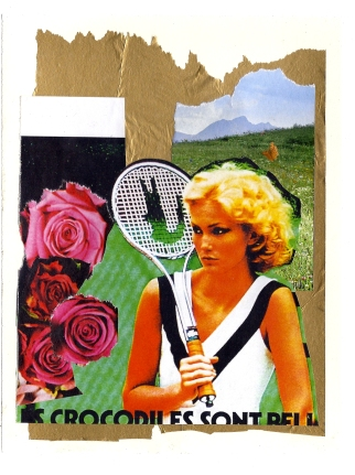 Collage Greetings Card