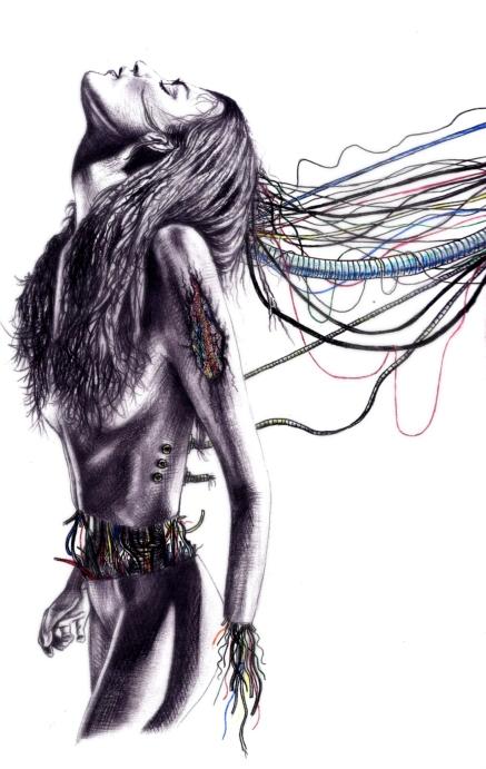 Pencil & Coloured Pen | A4 Paper | 2008