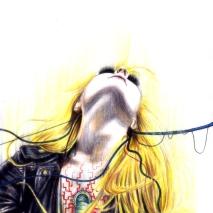 Watercolour Pencil & Ink | A4 Paper | 2009