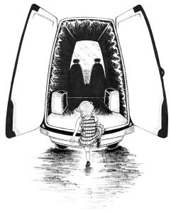 illustration pen and ink art children's book ebook