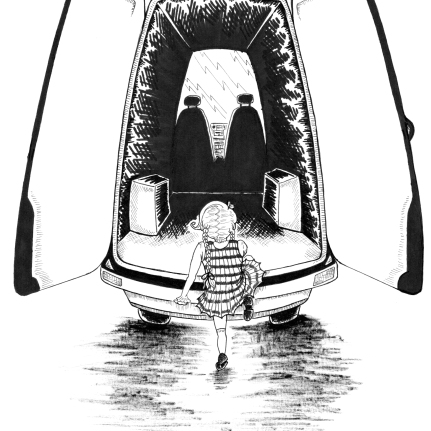 illustration pen and ink art children's ebook