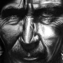 Pencil, Graphite Dust and Eraser | A3 Paper | 2009