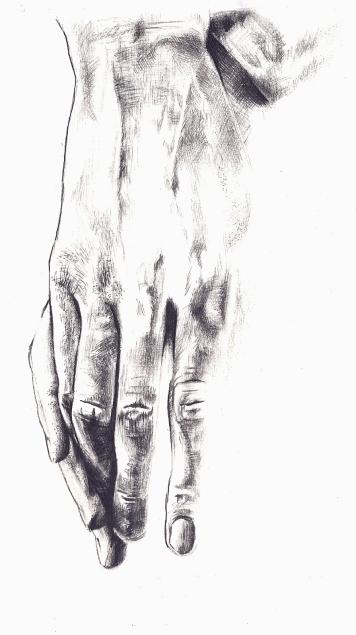 Pencil | A5 Watercolour Paper | 2012