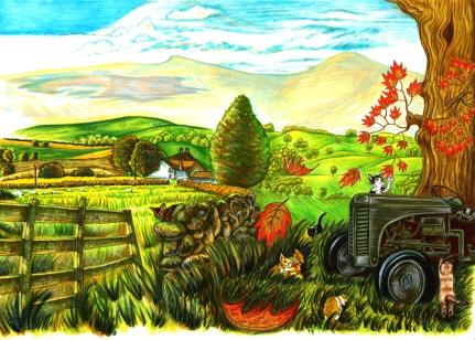 Jimmy the Cat Children's Book Illustration