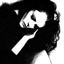Black and Silver Pencil | A4 Paper | 2007
