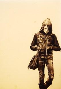 Biro in Sepia Tone | A4 Paper | 2012