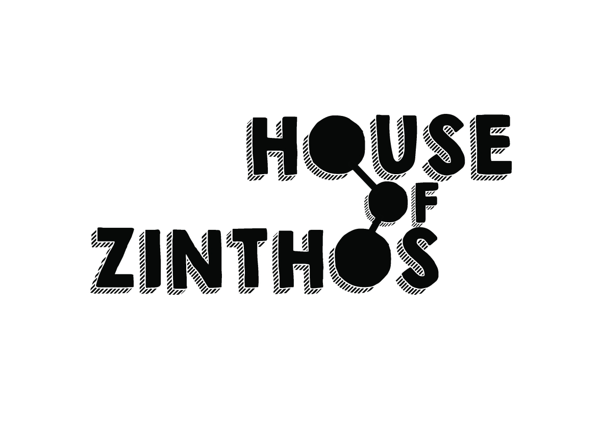 House of Zinthos Logo Design