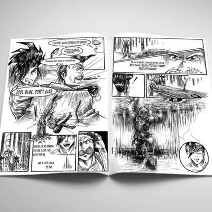 Age of Revolution #1 Comic Book Interior mock up