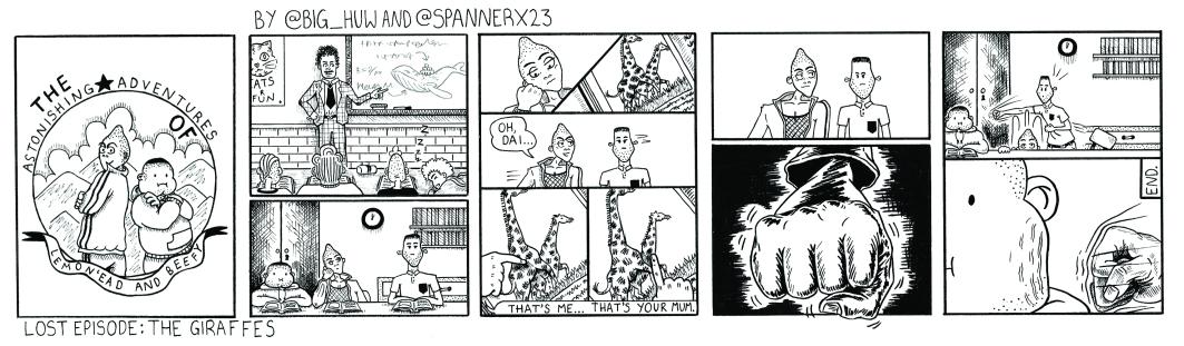 Lemon'ead & Beefy: Lost Episode - The Giraffes