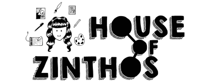 House of Zinthos Art Illustration Design Logo
