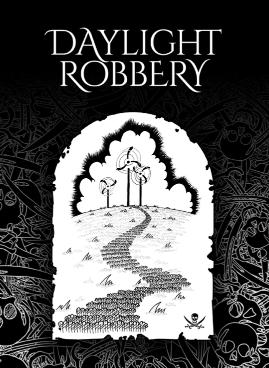 Daylight Robbery Ebook Cover by Jonathan Robinson