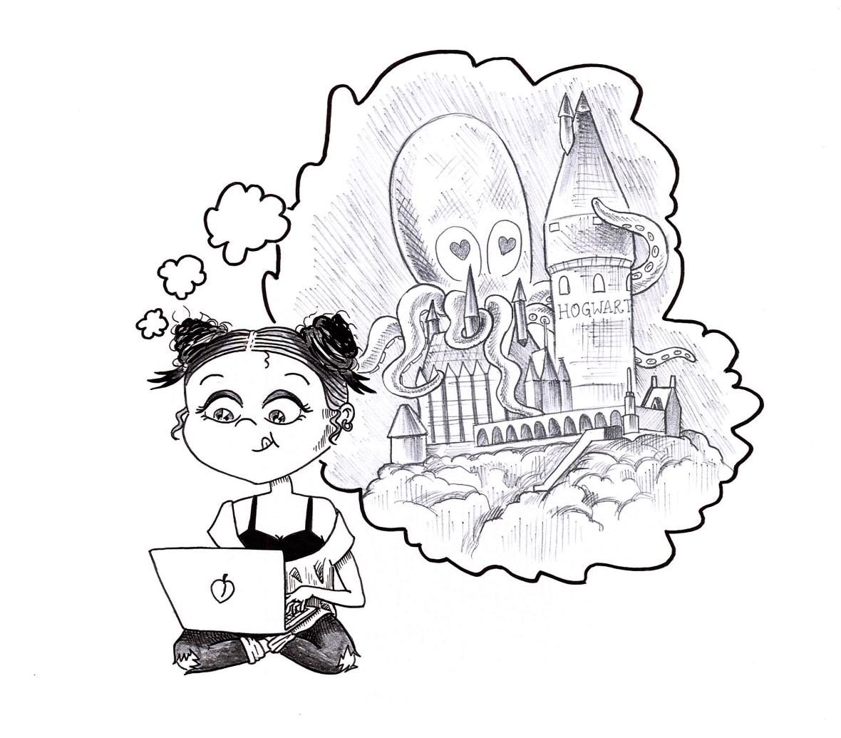 Stranger Than Fan Fiction Blog Illustration