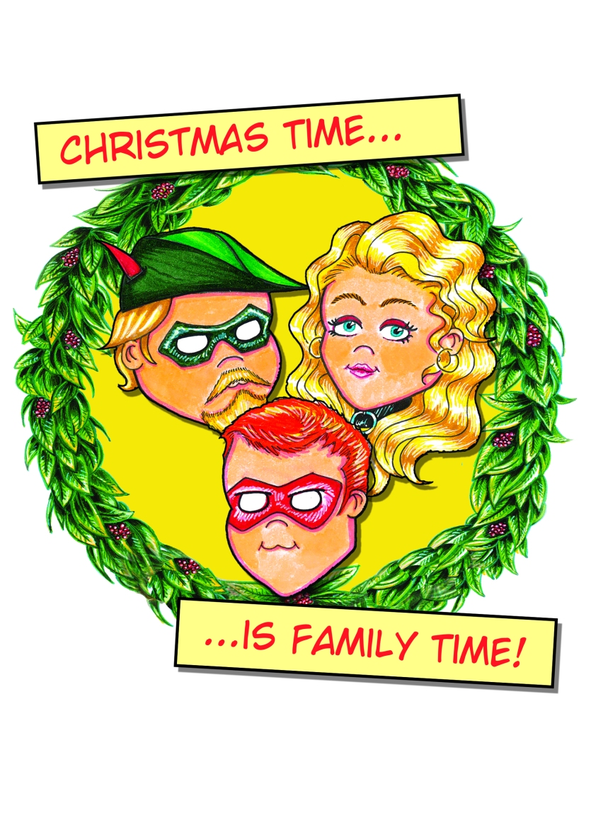 Arrow Family Christmas Card