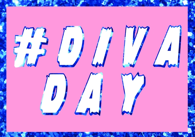 #DivaDay Greetings Card
