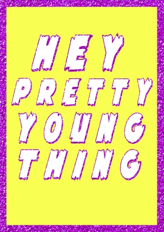 Hey PYT Greetings Card